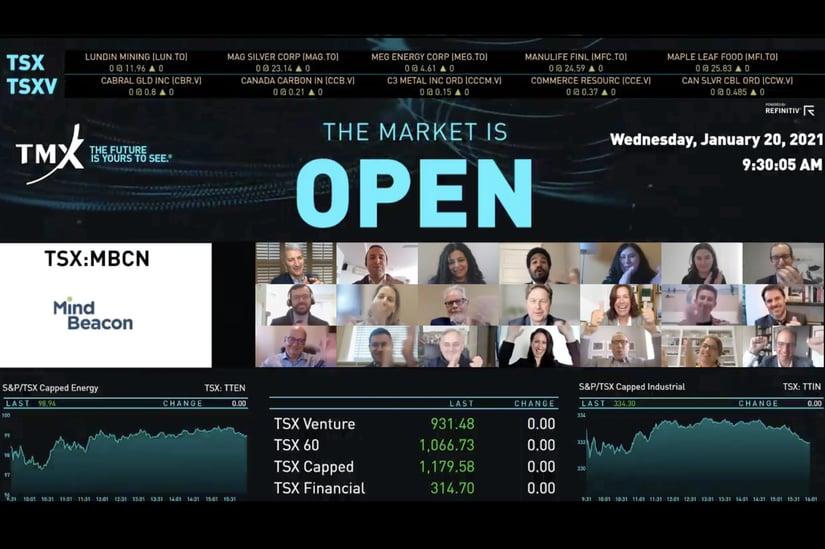 TMX Group Welcomes MindBeacon to Toronto Stock Exchange