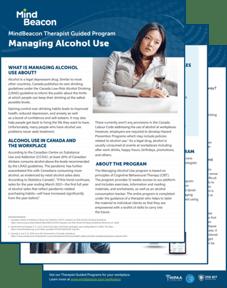 Alcohol Brochure Visual