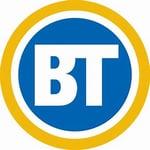 """Breakfast Television """"BT"""" logo"""