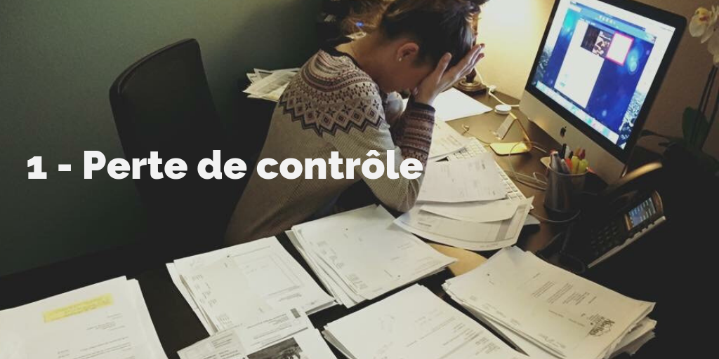 1 - Perte de contrôle