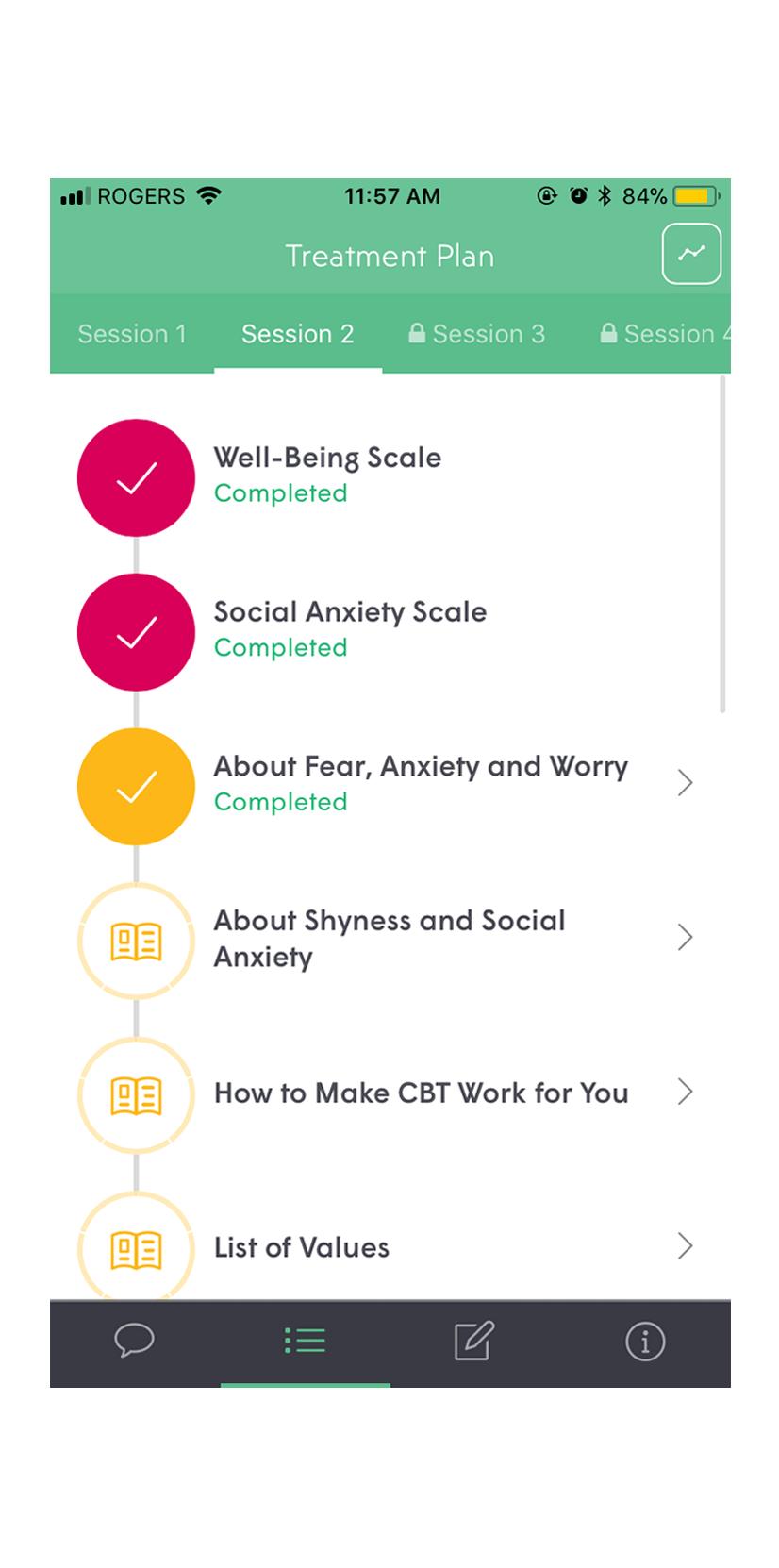 Beacon iOS app screenshot